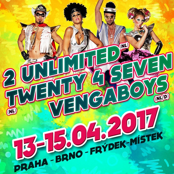Koncertní show mega hvězd 90. let | Eurodance Party Pump It Up