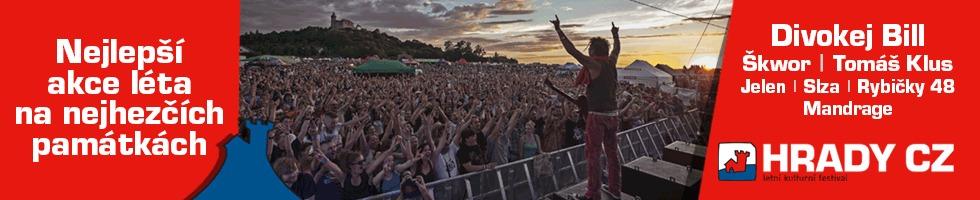 HRADY CZ | Letní kulturní festival - Nejlepší akce léta na nejhezčích památkách