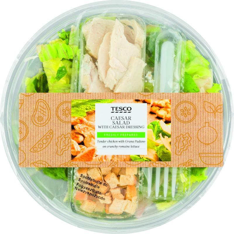 Tesco Caesar Salad