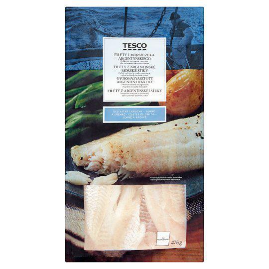 Tesco Filety z argentinské mořské štiky